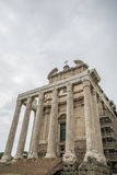 Rome, forum romanum Royalty Free Stock Photo