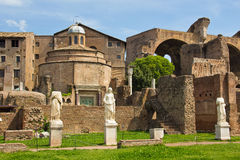 Rome, Forum Romanum Stock Photos