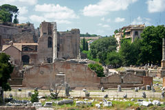 Rome Forum Stock Image