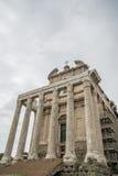 Rome forumromanum Royaltyfri Foto