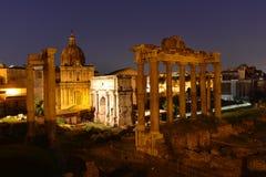 Rome forumromanum Royaltyfri Fotografi