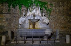 Rome, fountain of the mask royalty free stock photos