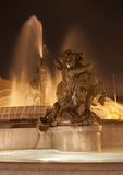 Rome - fountain from Piazza della Repubblica Royalty Free Stock Photos