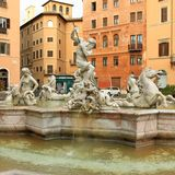 Rome fountain Royalty Free Stock Photos