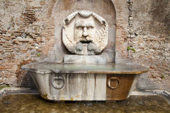 Rome - fountain by Santa Sabina Royalty Free Stock Photos