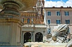 Rome fountain Stock Photography