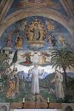 Rome - frescos från Santa Maria Aracoeli Royaltyfri Foto