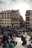 rome fyrkant Royaltyfri Bild