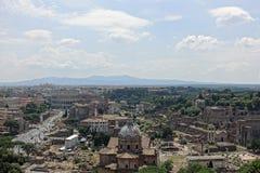 Rome gammalt centrum Royaltyfria Foton
