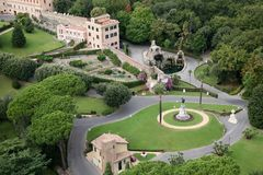 Rome garden Royalty Free Stock Photos