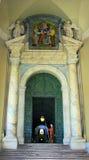 Rome gardians de basilique de Vatican, Italie - de St Peter image libre de droits