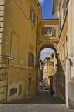 rome gata Arkivbild