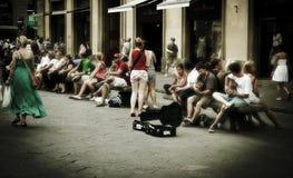 rome gata Arkivfoton