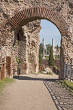 Rome - gate from Palatine hill Royalty Free Stock Image