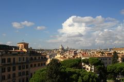 Rome - a general view of the city Royalty Free Stock Images