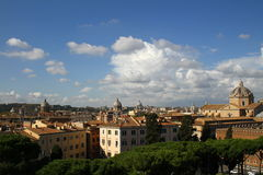 Rome - a general view of the city Royalty Free Stock Photos