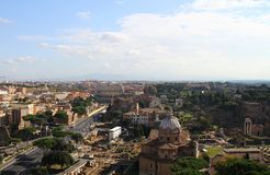 Rome - a general view of the city Royalty Free Stock Photography