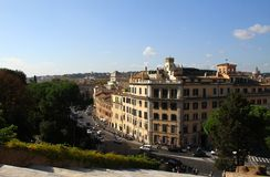 Rome - a general view of the city Stock Photography