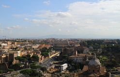 Rome - a general view of the city Royalty Free Stock Photo