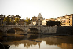 Rome. Golden hour stock photography
