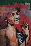 Rome grafitti royaltyfria foton