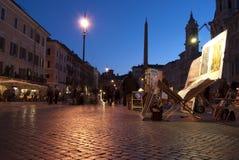 Rome. Grand dos de Navona Photo libre de droits