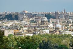 Rome from the height Royalty Free Stock Photo