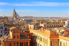 Rome from the height Royalty Free Stock Images