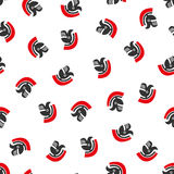 Rome Helmet Flat Vector Seamless Pattern Royalty Free Stock Image