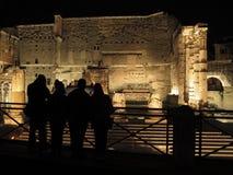 Rome het Forum van Augusto stock afbeelding