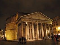 Rome het Pantheon stock afbeeldingen