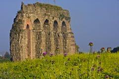 Rome: het park van aquaducten Royalty-vrije Stock Foto