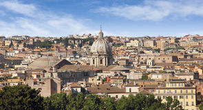 Rome historic center city Royalty Free Stock Photos