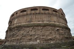 Rome, historic site, fortification, medieval architecture, ancient history. Rome is historic site, ancient history and history. That marvel has fortification stock images
