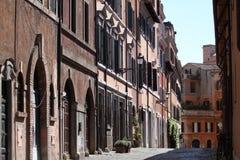 Rome, historische straat Royalty-vrije Stock Fotografie