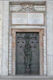 Rome. Holy Door of Papal Archbasilica of St. John in the Lateran Royalty Free Stock Photography