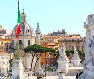 Rome. Holy Name Of Maria Church Stock Photography