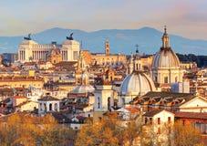 Rome - horisont, Italien Royaltyfria Foton