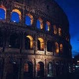Rome i sommar, Colosseum royaltyfri fotografi