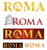 Rome icon symbol Royalty Free Stock Image