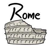 Rome illustration Royalty Free Stock Photography