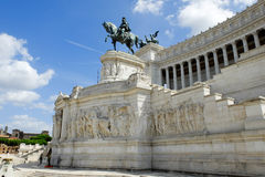 Rome imperial capital city historical monuments age Roman and Renaissance Stock Photography