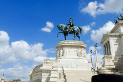 Rome imperial capital city historical monuments age Roman and Renaissance Royalty Free Stock Photos