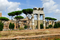 Rome imperial capital city historical monuments age Roman and Renaissance Royalty Free Stock Photography