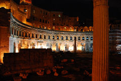 Rome - The Imperial Fora Royalty Free Stock Image