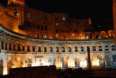 Rome - The Imperial Fora Stock Photography