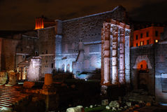 Rome (The Imperial Forum) Royalty Free Stock Photo