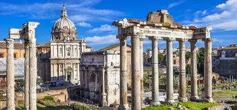 Rome - Imperial Forum Royalty Free Stock Photos