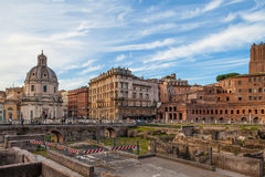 Rome, Imperial Forums Stock Images