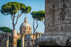 Rome - imperial forums Royalty Free Stock Image
